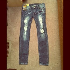 NWT Machine skinny jeans